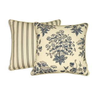 Newport Decorative Pillow : Rose Tree Newport 18-inch Reversible Throw Pillow - Overstock Shopping - Great Deals on Rose ...