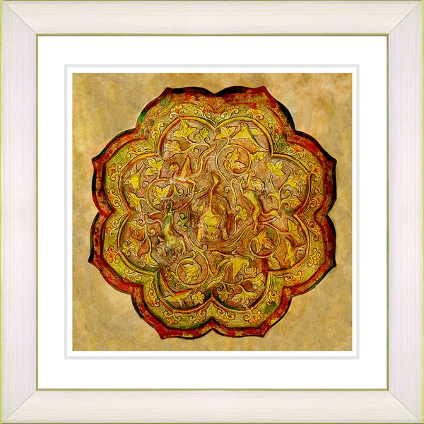 Studio Works Modern 'Platos - Gold' Framed Print 10651877