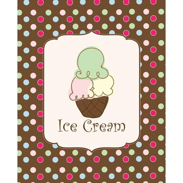 Sweet! Ice Cream! Art Print