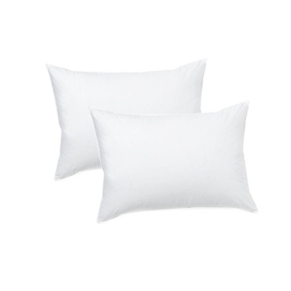 Home Accents Medium Firm Ultimate Feather Jumbo-size Pillow (Set of 2)