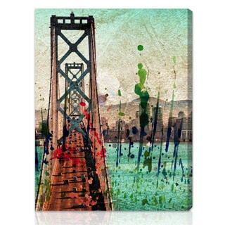 Oliver Gal Artist Co. 'San Francisco Colors' Gallery-wrapped Canvas Art