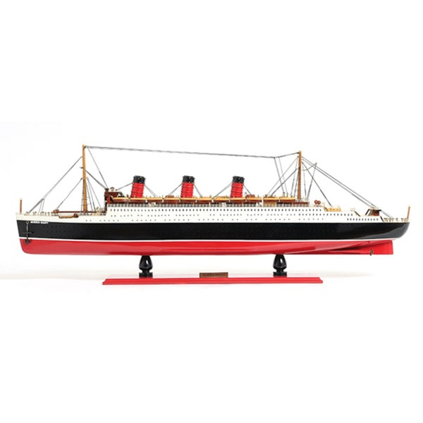 Old Modern Handicrafts Queen Mary Model Boat
