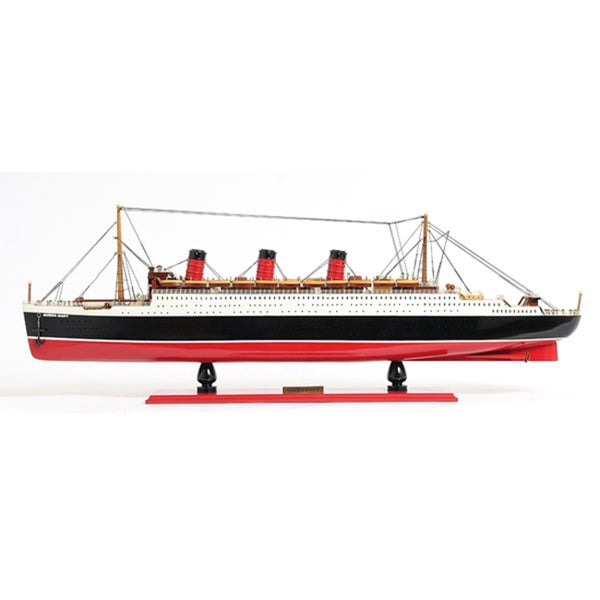 Old Modern Handicrafts Queen Mary L Model Boat