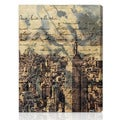 Oliver Gal Artist Co. 'The Empire' Gallery-wrapped Canvas Art
