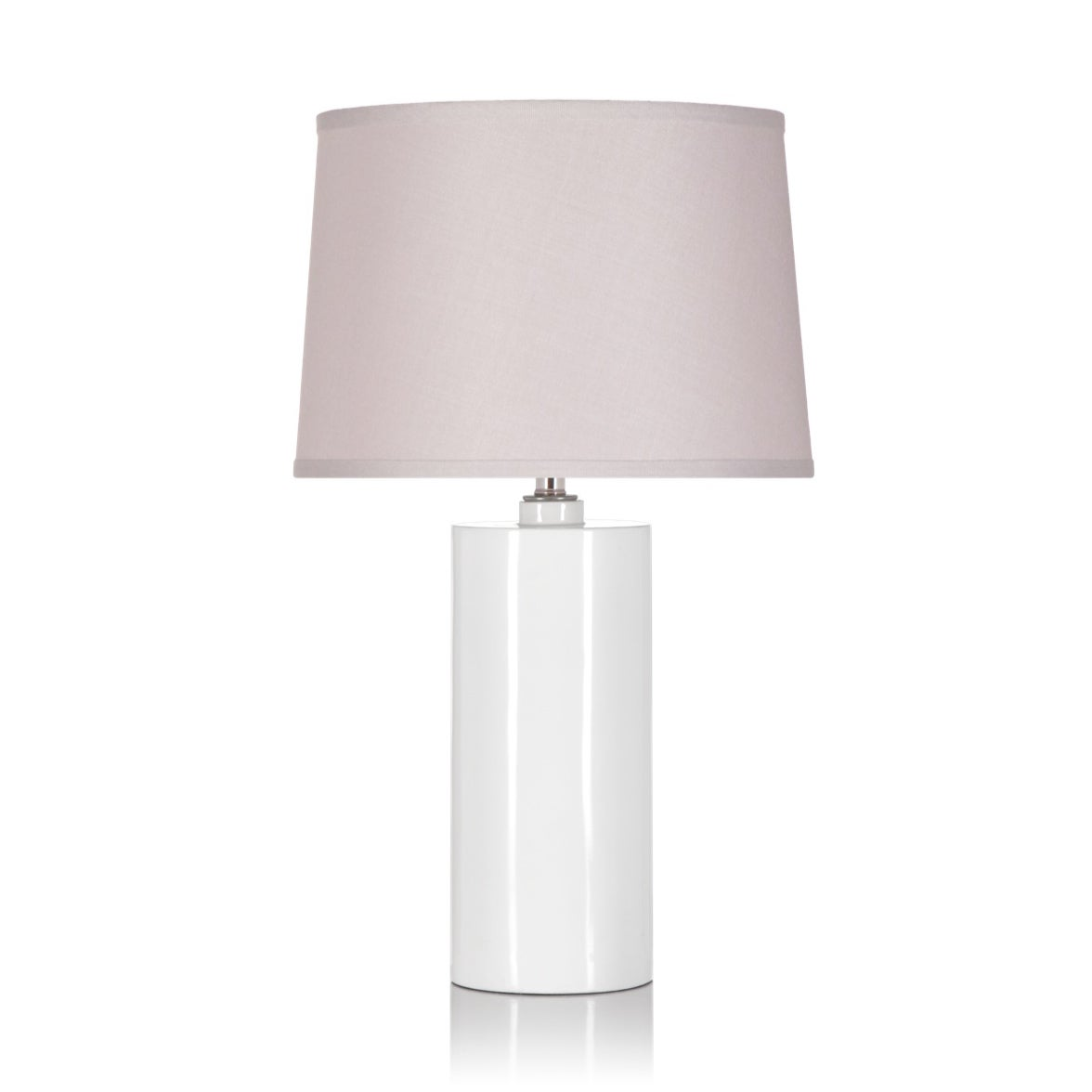 White/ Tan 1-light Table Lamp at Sears.com