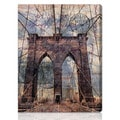 Oliver Gal Artist Co. 'Brooklyn Bridge' Gallery-wrapped Canvas Art