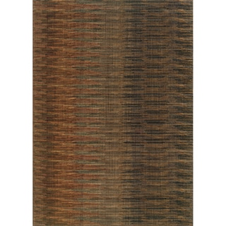 Indoor Brown/ Rust Area Rug (7'8 x 10'10)
