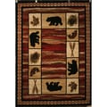 Cozy Bear Area Rug (5'3 x 7'3)