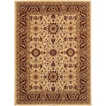 Anatolia Antique Kashan/ Cream-Red Area Rug (8'2 x 11'5)