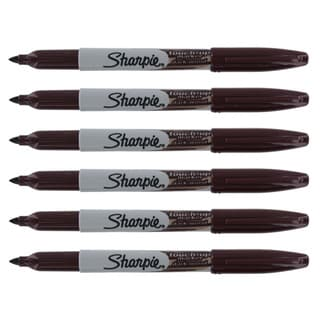 Sharpie Touch-Up Dark Wood Furniture Markers (Pack of 6)