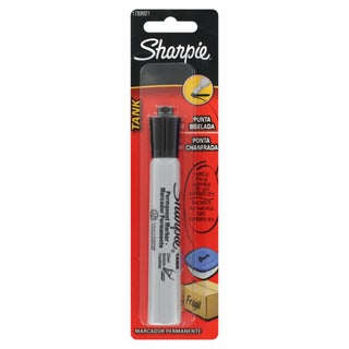 Sharpie Tank Black Permanent Markers (Pack of 12)