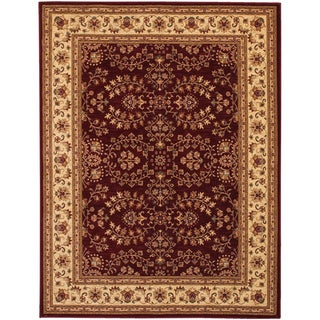 Anatolia Antique Herati/ Red Cream Area Rug (5'3 x 7'6)