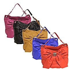 Bueno Women's 'Sophia' Bow Front Shoulder Bag
