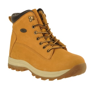 Lugz Men's 'Basecamp' Wheat Nubuck Leather Lace-up Boots