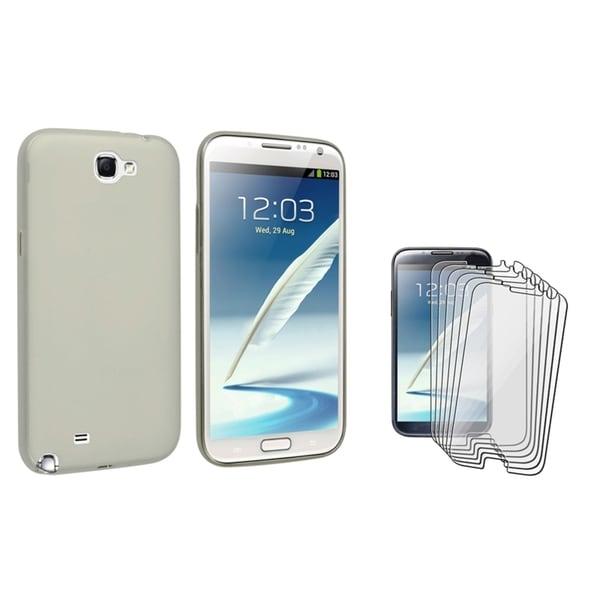 BasAcc Case/ Screen Protector for Samsung Galaxy Note II N7100