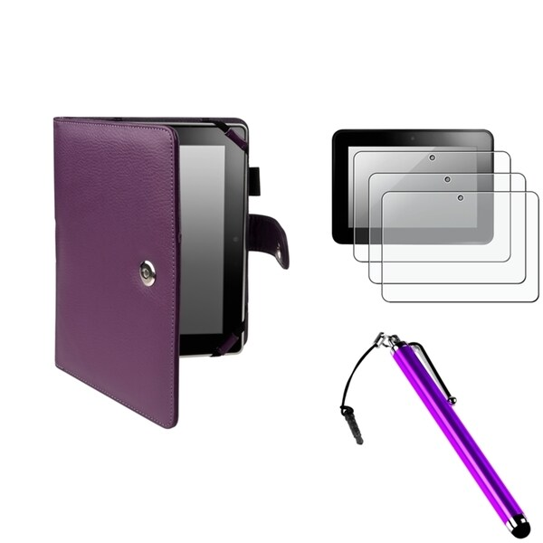 BasAcc Case/ Protector/ Stylus for Amazon Kindle Fire HD 8.9-inch