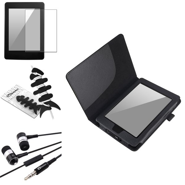 INSTEN Black Case Cover/ Protector/ Headset/ Wrap Kindle PaperWhite