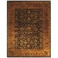 Safavieh Handmade Golden Jaipur Black/ Gold Wool Rug (9' x 12')