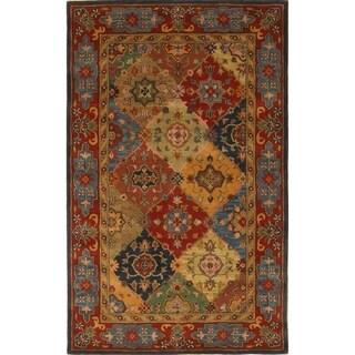 Safavieh Handmade Heritage Majesty Red Wool Rug (4' x 6')