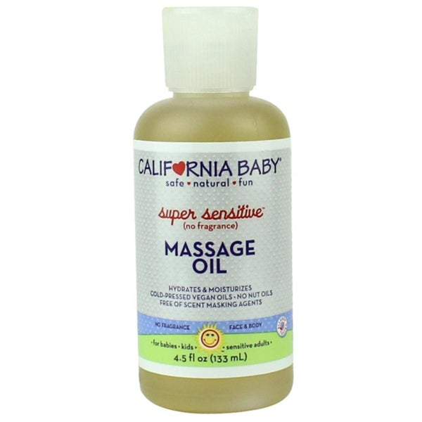 California Baby Super Sensitive 4.5-ounce Massage Oil