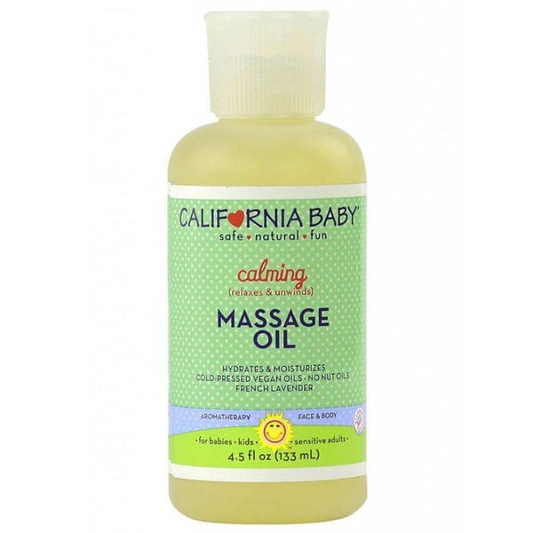 California Baby Calming 4.5-ounce Massage Oil