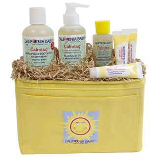 California Baby Calming Cooler Tote Gift Set