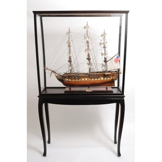 Old Modern Handicrafts Model Display Case with Legs