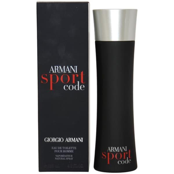 Giorgio Armani Code Sport Men's 4.2-ounce Eau de Toilette Spray
