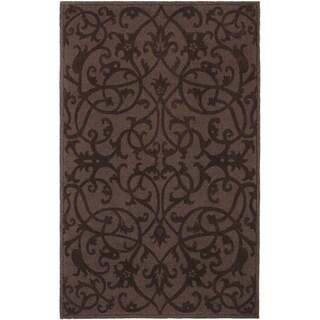 Safavieh Handmade Irongate Brown New Zealand Wool Rug (3' x 5')