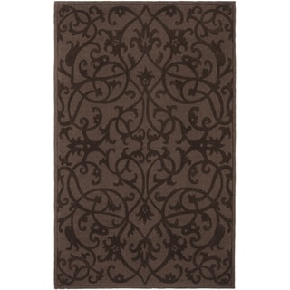 Safavieh Handmade Irongate Brown New Zealand Wool Rug (8'3 x 11')