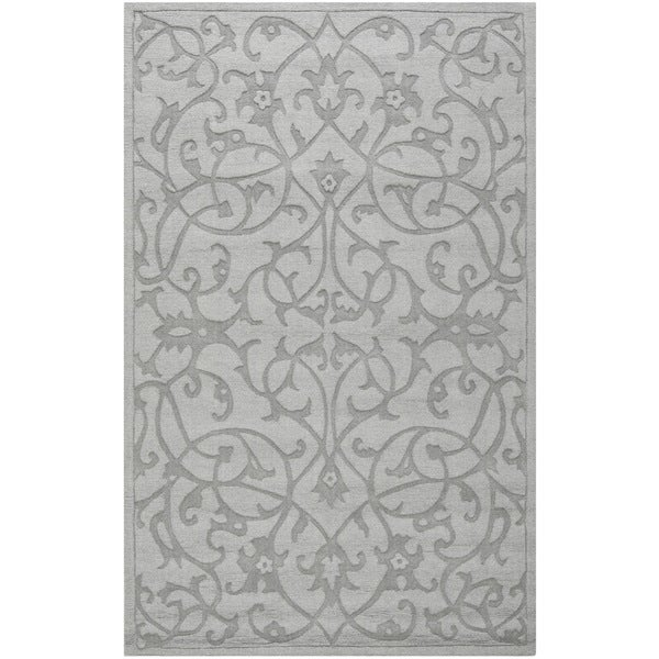 Safavieh Handmade Irongate Grey New Zealand Wool Rug (3' x 5')