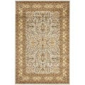 Safavieh Lyndhurst Persian Treasure Grey/ Beige Rug (5'3 x 7'6)