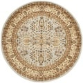 Safavieh Lyndhurst Persian Treasure Grey/ Beige Rug (5'3 Round)