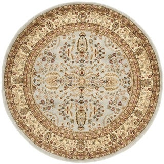 Safavieh Lyndhurst Persian Treasure Grey/ Beige Rug (7' Round)