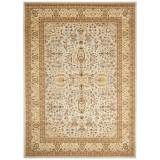 Safavieh Lyndhurst Persian Treasure Grey/ Beige Rug (8' x 11')