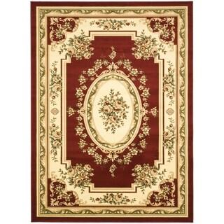 """Safavieh Lyndhurst Red/Ivory Oriental Rug (8'11"""" x 12')"""