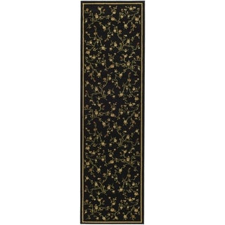 Safavieh Lyndhurst Black Rug (2'3 x 20')