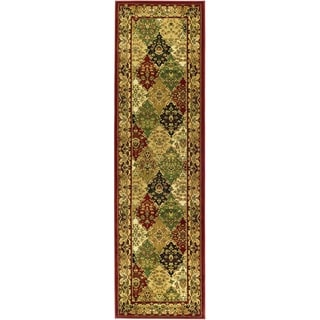 Safavieh Lyndhurst Multi-colored/ Red Rug (2'3 x 10')