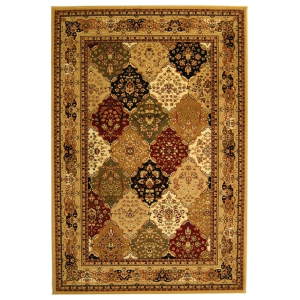 Safavieh Lyndhurst Multi-colored/ Beige Rug (5'3 x 7'6)