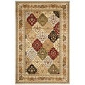 Safavieh Lyndhurst Grey/ Multi-colored Rug (5'3 x 7'6)