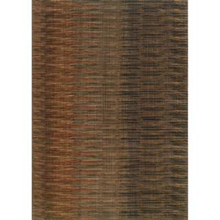 Indoor Brown/ Rust Area Rug (6'7 x 9'6)