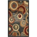 Safavieh Lyndhurst Circ Grey/ Multi-colored Rug (2'3 x 4')