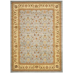 Safavieh Lyndhurst Floral Light Blue/ Ivory Rug (10' x 14')