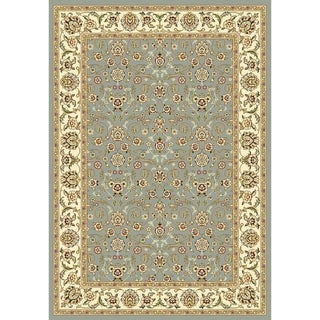 Safavieh Lyndhurst Floral Light Blue/ Ivory Rug (6' x 9')