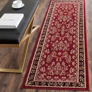 Safavieh Lyndhurst Red/ Black Rug (2'3 x 10')
