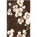 Safavieh Handmade Avant-garde Bliss Brown Rug (9' x 12')