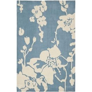 Safavieh Handmade Avant-garde Summer Night Blue Rug (9' x 12')