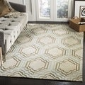 Handmade Avant-garde Morocco Beige Rug (9&#39; x 12&#39;)