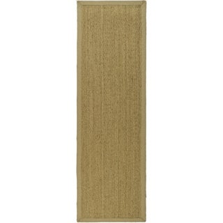 Safavieh Hand-woven Sisal Natural/ Beige Seagrass Rug (2' 6 x 18')