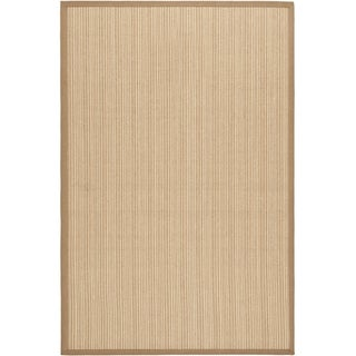Dream Natural Fiber Beige Sisal Rug (6' x 9')